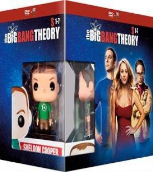 The Big Bang Theory (Seasons 1-7) - 22-DVD Box Set & Sheldon FUNKO Figurine ( The Big Bang Theory - Seasons One to Seven (159 Episodes) ) [ Origine Olandese, Nessuna Lingua Italiana ]