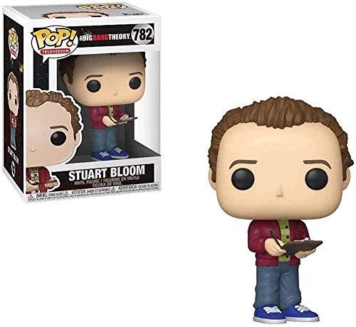 ADIS Pop Vinyl Figures The Big Bang Theory: TV: Stuart Bloom Figura de acción Coleccionable Muñecas públicas Adornos exquisitos Caja de Regalo de cumpleaños Multicolor