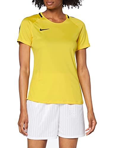 Camisetas, Mujer, Amarillo, limón