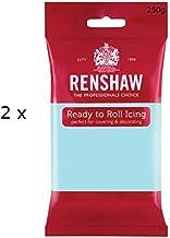 500g Renshaw Ready Roll Icing Fondant Cake Regalice Sugarpaste DUCK EGG BLUE