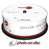 Primeon 2761205 DVD en Blanco 4,7 GB DVD-R 25 Pieza(s) - DVD+RW vírgenes (4,7 GB, DVD-R, 25 Pieza(s), 16x, Caja para Pastel)