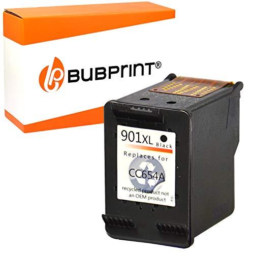 Bubprint Druckerpatrone kompatibel für HP 901 XL für OfficeJet 4500 Wireless J4500 J4524 J4535 J4540 J4545 J4550 J4580 J4600 J4585 J4624 J4660 J4680 J4680C Schwarz