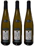 Mouztraminer'Gewuztraminer', 2019, Vin Blanc aromatique, par lot de 3 bouteilles de 75 cl.