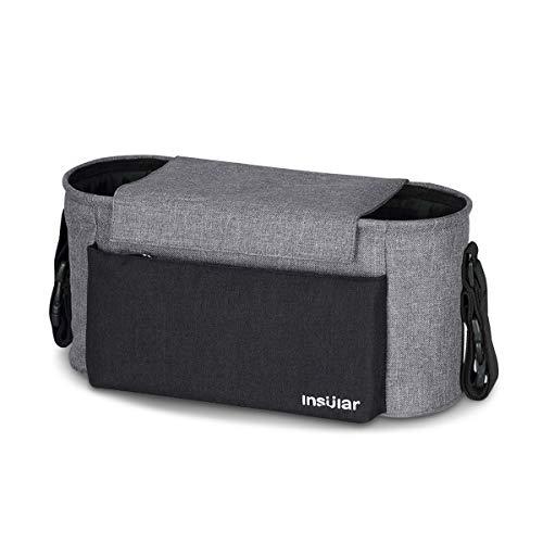 SONARIN Waterproof Bolsa Organizadora para Cochecito de Bebé Changing Bag,Bolso de mano,Capacidad...