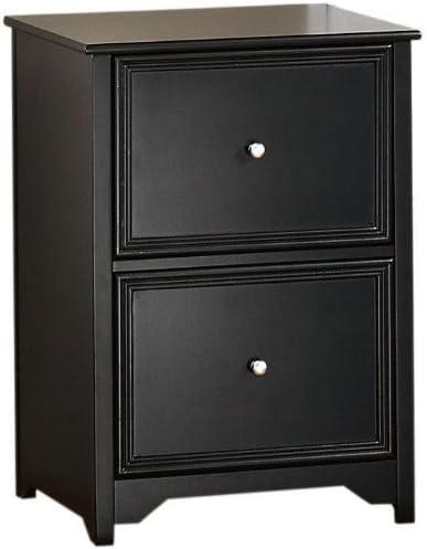 Amazon Com Home Decorators Collection Oxford File Cabinet 2 Drawer Black Furniture Decor