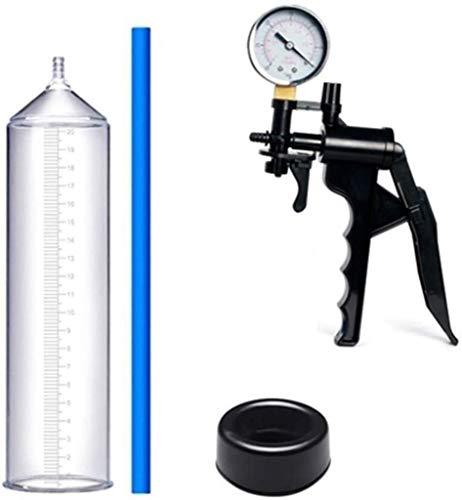 BYBGLA Erstaunlich Glücklich Manuelle Männer Hochvakuum Penǐs Pumpe Luftdruckeinstellung Geräte erhöhen die Größe und Stärke Hand ED-Pumpe Deine Beste Wahl