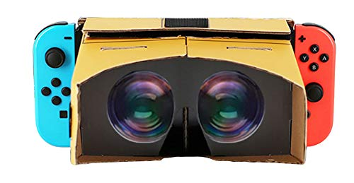 Cardboard VR Handsets for Nintendo Switch/ Arcade Game Acessories/ Portable VR Set/ Compatible only to Switch