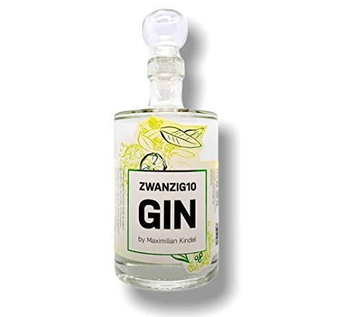 Zwanzig10 London Dry Gin by Maximilian Kindel I 0.5l Flasche