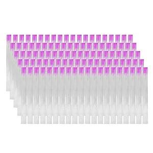 MWOOT 100 Piezas Kit de Extensión de Uñas de Fibra de Vidrio,Fibra de Vidrio Extensión de Uñas de Acrilico Manicure Consejos de Acrílico de Seda Uñas