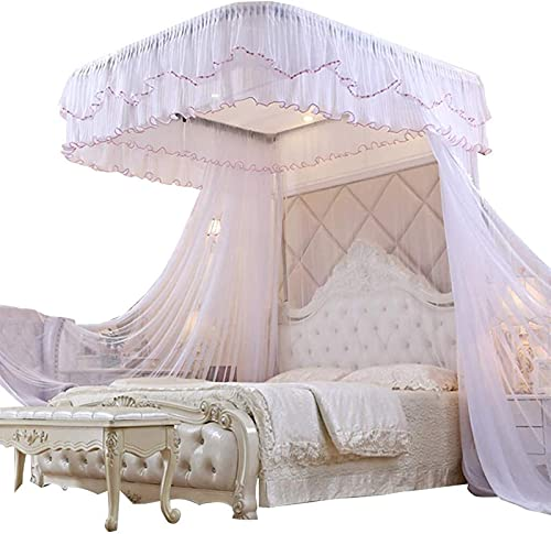 DHTOMC Mosquitero para interiores y exteriores, mosquitero, mosquitero, para cama y decoración de dormitorio de niños, fácil de instalar
