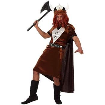 Atosa - Disfraz de vikingo para hombre, talla 50-52 (8422259101321 ...