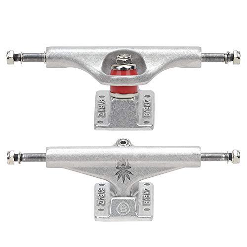 Asse per skateboard Trucks 139 mm/147 (set di 2) Fit 7,5/7,75/8,0/8,25 pollici (5,25 pollici argento)
