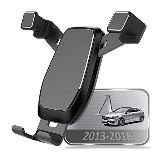 AYADA Soporte Móvil para Mercedes-Benz Clase A W176, Soporte Telefono Nueva Versión Gravedad Auto Lock Estable Fácil de Instalar Hatchback 2013 2014 2015 2016 2017 2018 Accesorios