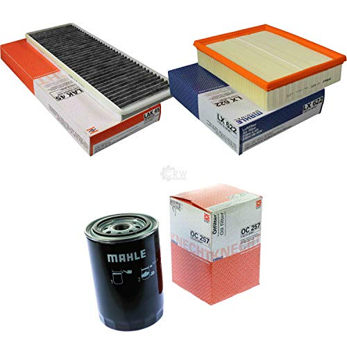 MAHLE Inspektions Set Inspektionspaket Innenraumfilter Luftfilter Ölfilter