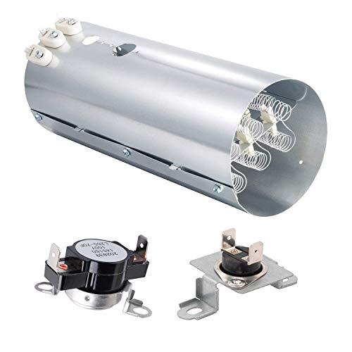 Price comparison product image Siwdoy 134792700 Dryer Heating Element,  137032600 Thermal Limiter and 3204267 Thermostat Compatible with Electrolux Frigidaire PS2349309 AP4368653 AP4368739 PS2349395 AP213147