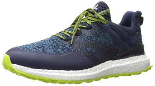 adidas Golf Crossknit Boost Golfschuhe für Herren, Blau (Navy), 46 EU