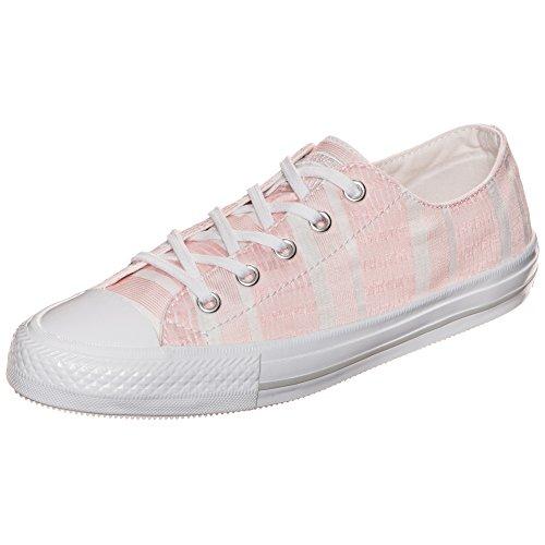 Converse Damen Chuck Taylor All Star Gemma OX Sneaker, Pink (Rosa/Creme Rosa/Creme), 42.5 EU