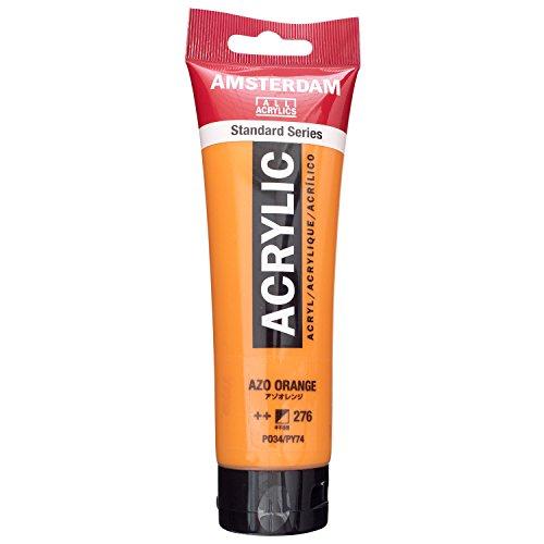 Talens AMSTERDAM Acrylfarbe 120ml Azoorange