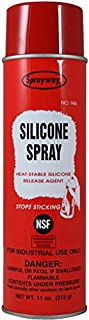 Sprayway SW946 Silicone Spray and Release Agent, 11 oz