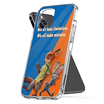 Phone Case Compatible with iPhone Xr 11 Se 7 12 8 X 2020 6 Zootopia 6s Plus Xs Pro Max Mini Scratch Drop Accessories Waterproof Tested Shock
