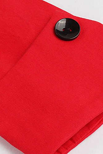 Babyonline Rockabilly 50er Polka Dots Punkte 1950er Kleid Petticoat Faltenrock L - 5