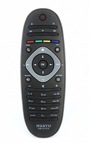 mando a distancia para Philips LED, LCD TV modelo rm-d1070 = RC2813903/01 = 313923823491.