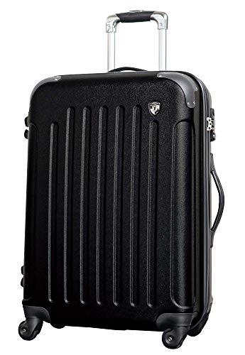 SS【マットB】ブラック / newFK10371 スーツケース キャリーバッグ 軽量 TSAロック 超軽量 機内持込 (1〜3日用) マット加工 ファスナー開閉タイプ