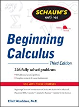 Schaum's Outline of Beginning Calculus, Third Edition