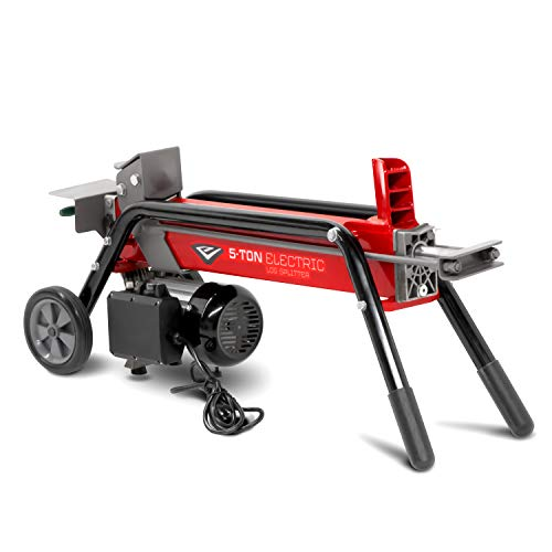 Learn More About EARTHQUAKE 32228, 5-ton Electric Log Splitter, 1500-Watt Motor, Precision Pump Gear...