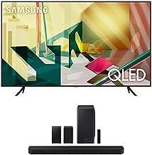 "Samsung QN82Q70TA 82"" QLED Ultra High Resolution Smart HDR 4K TV with a Samsung HW-Q950T 9.1.4 Channel Soundbar with Dolby..."