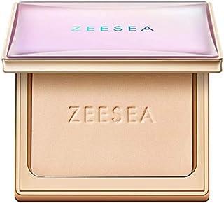 ZEESEA(ズーシー) メタバースピンクシリーズ アストロダスト パウダーファンデーション オイルコントロール 崩れにくい テカリ抑え きれいな素肌質感パウダーファンデーション (10#ナチュラル)
