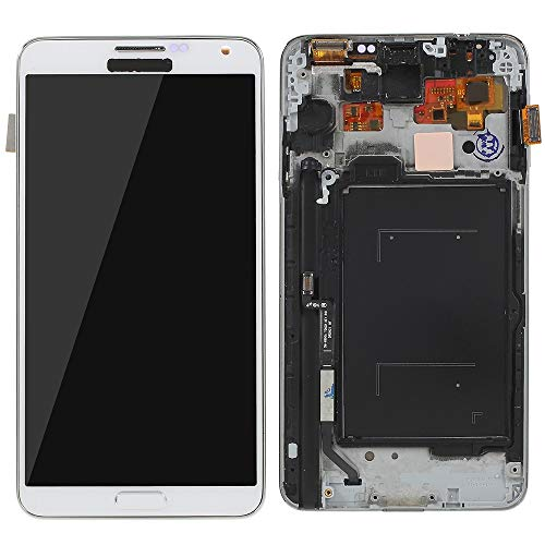 MOVILSTORE Pantalla Completa LCD + Tactil + Marco Compatible con Samsung Galaxy Note 3 N9005 Blanco