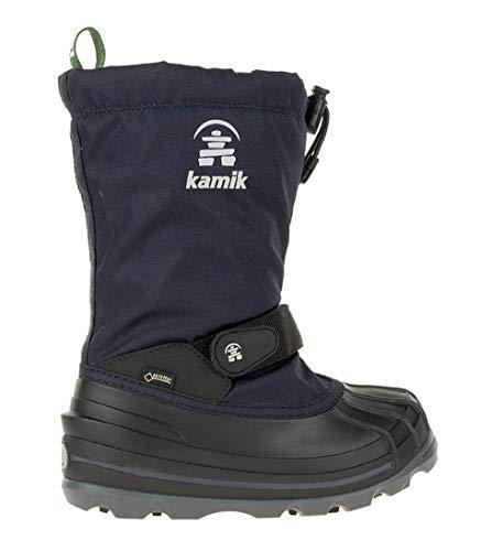 Kamik Unisex-Kinder WATERBUG8G Schneestiefel, Blau - 6