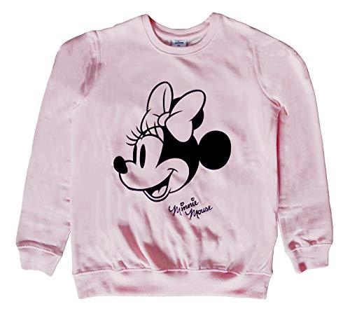 Disney Minnie Sudadera de forro polar cepillado para mujer Rosa rosa XS