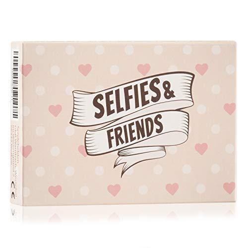 Selfies&Friends - Das Selfiespiel mit kreativen Fotoaufgaben als Geburtstagsgeschenke für Gäste! Funktioniert natürlich auch ohne Photo Booth, Fotorequisiten und Selfiestick für Silvester