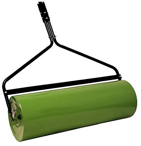 Gartenwalze für Rasentraktor ATV Quad Ackerwalze 98 cm Walze Rasenwalze Handwalze Rasenroller Rasenlüfter befüllbar