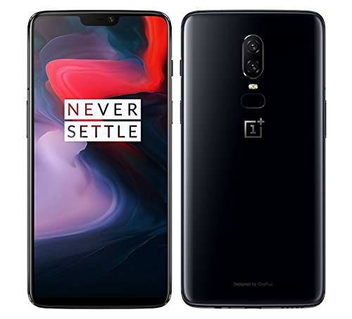 OnePlus 6 A6003 128GB Storage + 8GB Memory Factory Unlocked 6.28 inch AMOLED Display Android 8.1 -...