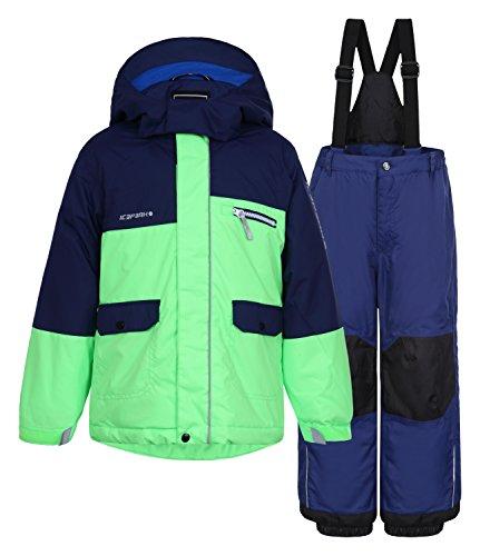 JERRY KD by ICEPEAK | Children's Set , Ausführung:I, Größe:92, Elternfarbe:Blau, Farbe:Dunkel Blau, Qualität:517
