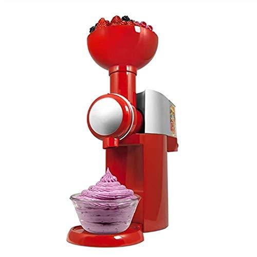 Ybzx Elektrische Eismaschine, gefrorener Joghurt, gesunde Dessertfrucht Soft Serve Maker Erstellt schnell einfach lecker mit einfachem Tragegriff