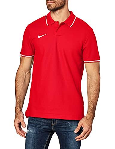 Nike AJ1502 T-shirt Polo Homme - Rouge (University Red/White 657) - S