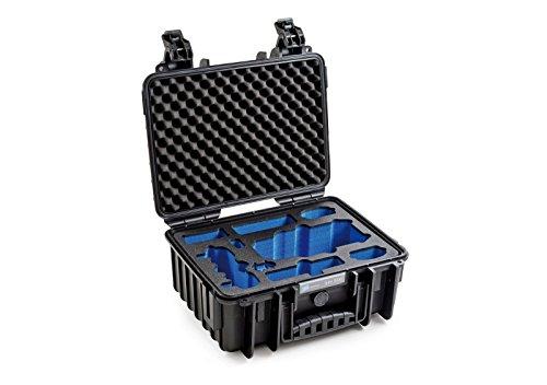 B&W outdoor.cases Typ 3000 mit DJI Mavic Pro / Platinum / Fly More Combo Inlay - Das Original