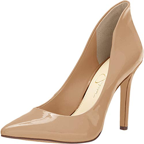 Jessica Simpson womens Cambredge Pump, Chai Latte, 7.5 US