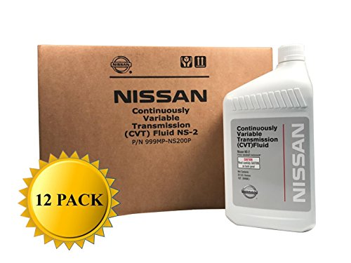 Nissan Genuine OEM CVT-2 Transmission Fluid 999MP-NS200P (12 Quarts)