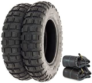 Shinko SR421 Mini Bike Trail Tire Set - Compatible with Honda Z50A/R - 1968-1999 - Tires and Tubes