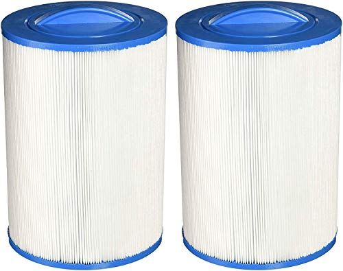 Guardian Filtration Products 2 Pack - New Spa Filter Cartridges Replacement for UNICEL 6CH-940-FILBUR FC-0359-Pleatco PWW50P3