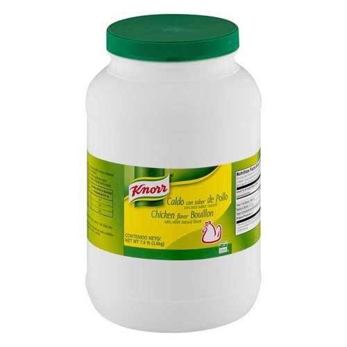 KnorrChicken Flavor Bouillon Caldo De Pollo - 7.9 Lbs. Pack of 4