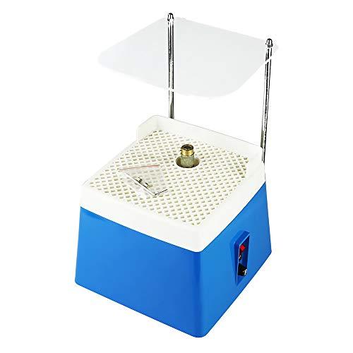 Tragbare Glasschleifmaschine Glasschleifer Elektrische Buntglasschleifmaschine Tragbare Glasschleifmaschine Spritzschutz Gesichtsschutz Tablett Diamant Glaskunst Schleifwerkzeug
