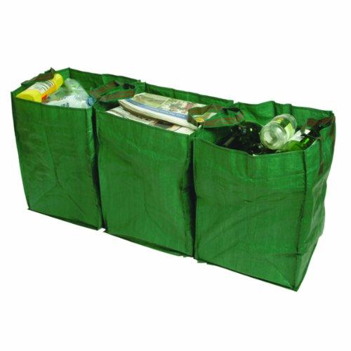 Bosmere Products Ltd Sacs Recyclage g347 résistants réutilisables Lot de 3