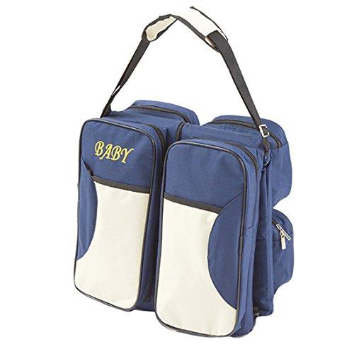 Babywiege , tragbare Reisekrippe , Wickeltasche, Wickelstation mit Mat te, faltbares Bett , multifunktionale Tragetasche  für Babys im Alter von 0-12 Monaten