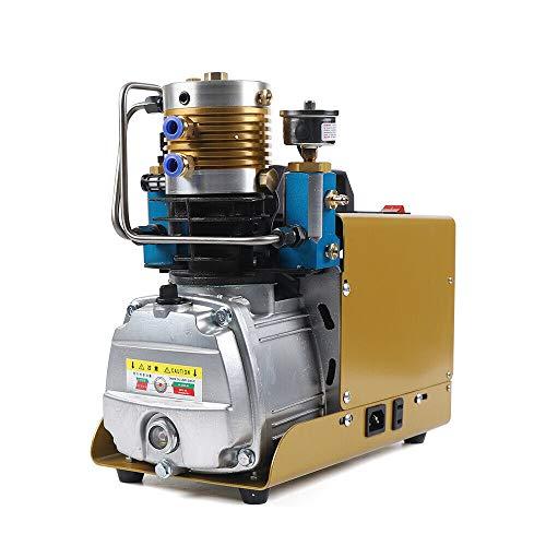 Compresor de alta presión 30 MPA, bomba de aire automática 4500 psi, bomba de aire de alta presión, 300 bares, bomba de aire de alta presión, compresor de aire PCP